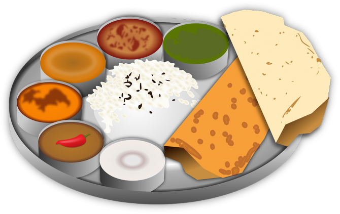 vector transparent download Meal clipart home cooked meal. Vegetarian lunch meals homedelicacy.