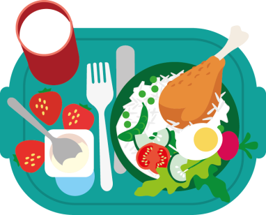 transparent stock School wellbeing healthy eating. Meal clipart meal plan.