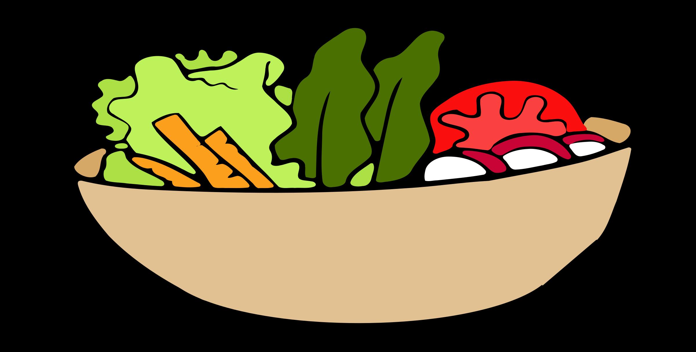 clip art library Salad vector. Clipart bowl big image