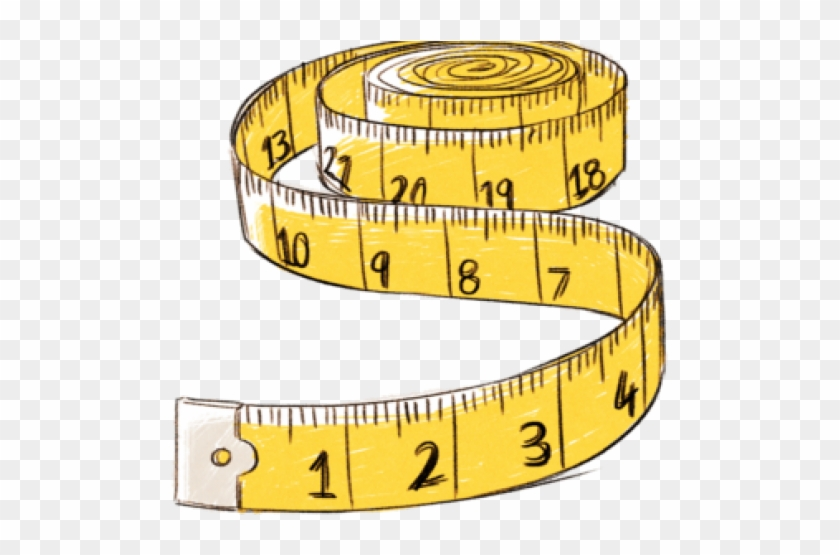freeuse library Measure clipart. Long measuring tape sewing