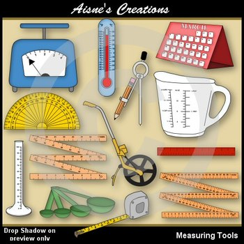 vector free library Measure clipart algebra class. Measuring tools pack math.