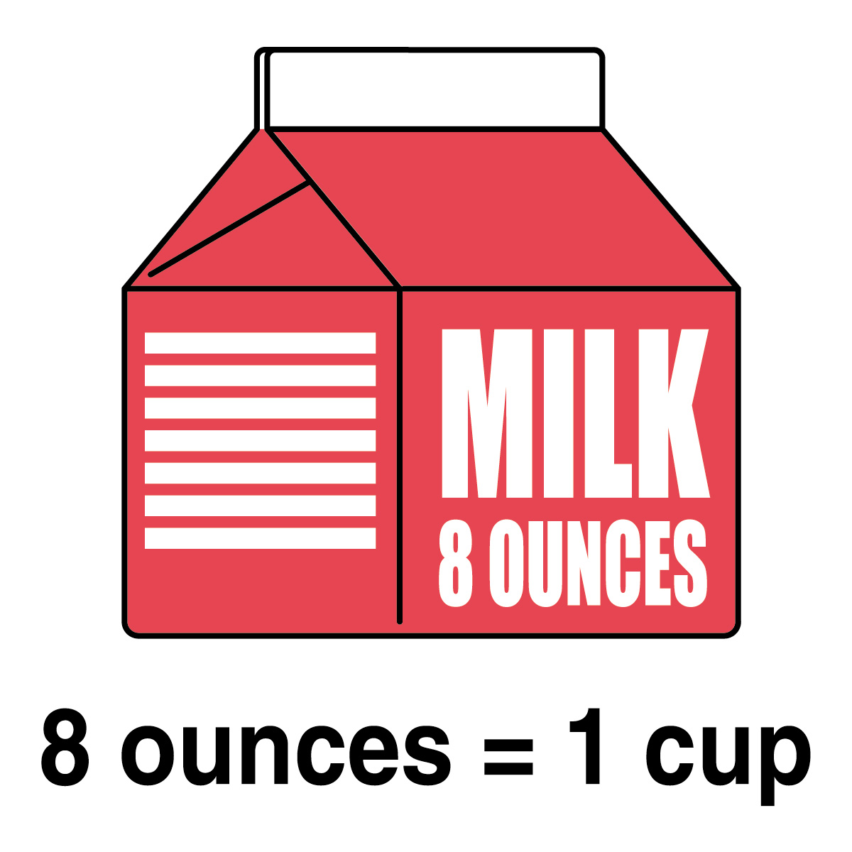 banner royalty free stock Free quart cliparts download. Measure clipart pint milk.
