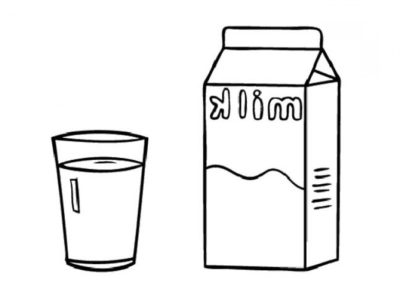 graphic black and white library Measure clipart pint milk. Gallon free download best.