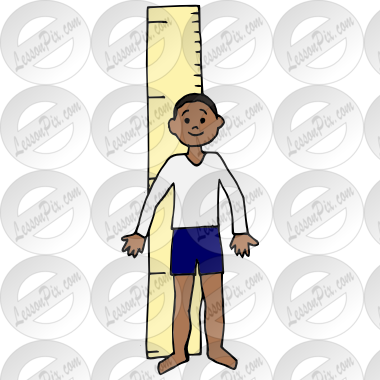 image royalty free Measuring clipart grow tall. Picture for classroom therapy.