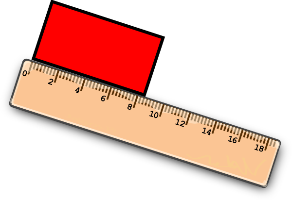 freeuse stock measuring ruler clipart