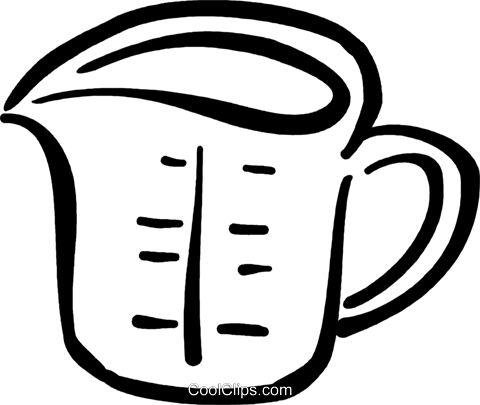 clip art download Measuring cup clipart black and white. Free download best on