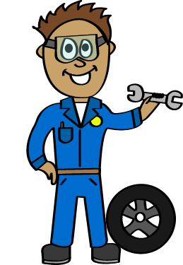 image royalty free stock Community helpers bundle the. Mechanic clipart.