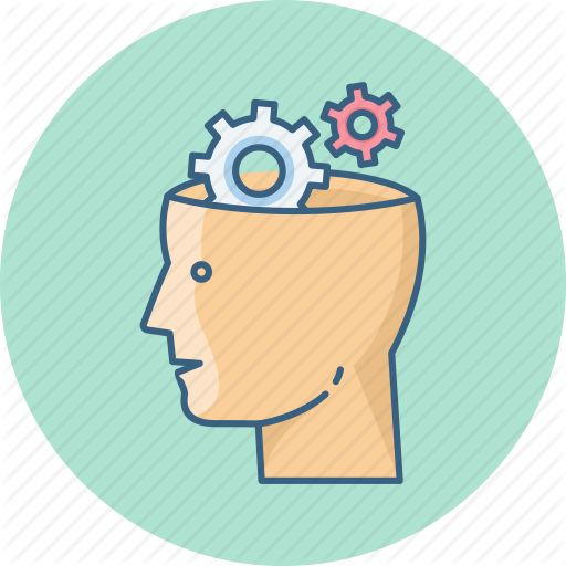 graphic royalty free download Mechanic clipart brain gear. Education and learning round.