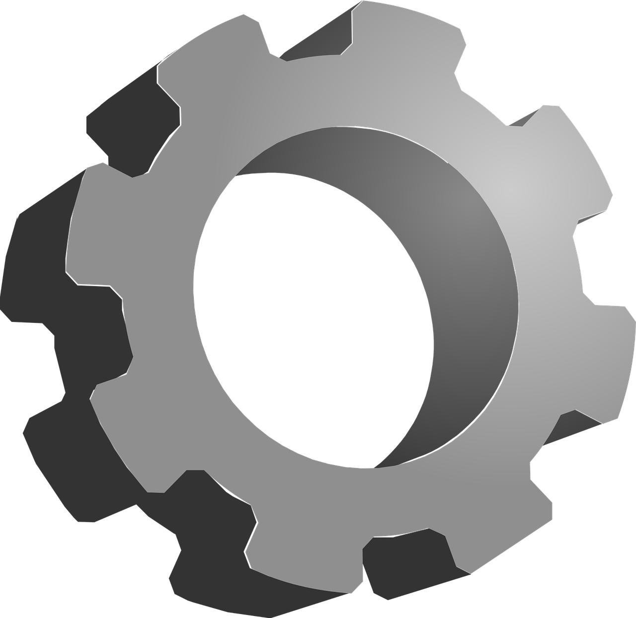 picture transparent Mechanical Clipart gear icon