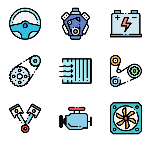 image black and white download Mechanical engineering Icons