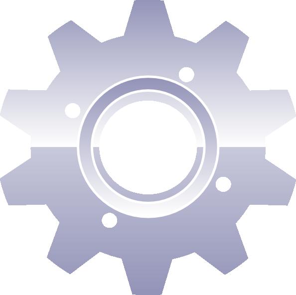 clip transparent library Gear Clip Art at Clker