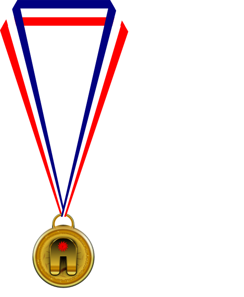 graphic freeuse stock Medal clipart. Gold clip art at.
