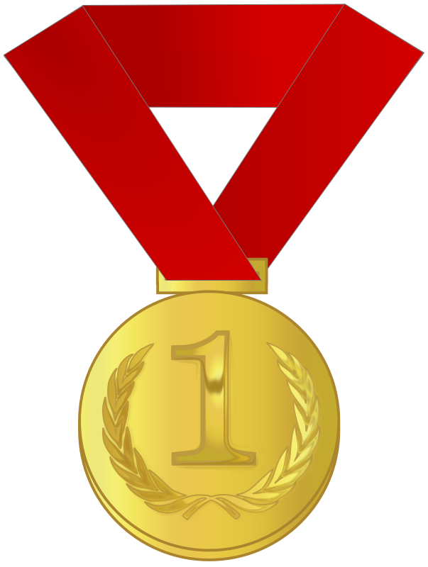 jpg Gold award medium image. Medal clipart.
