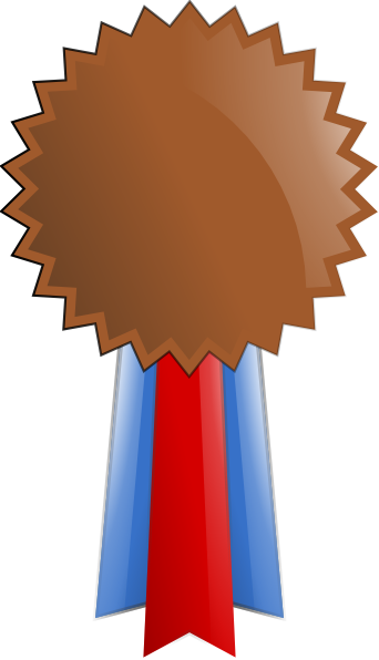 clip art royalty free download . Medal clipart bronze.