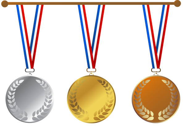 black and white download olympic clipart medal stand #43762198