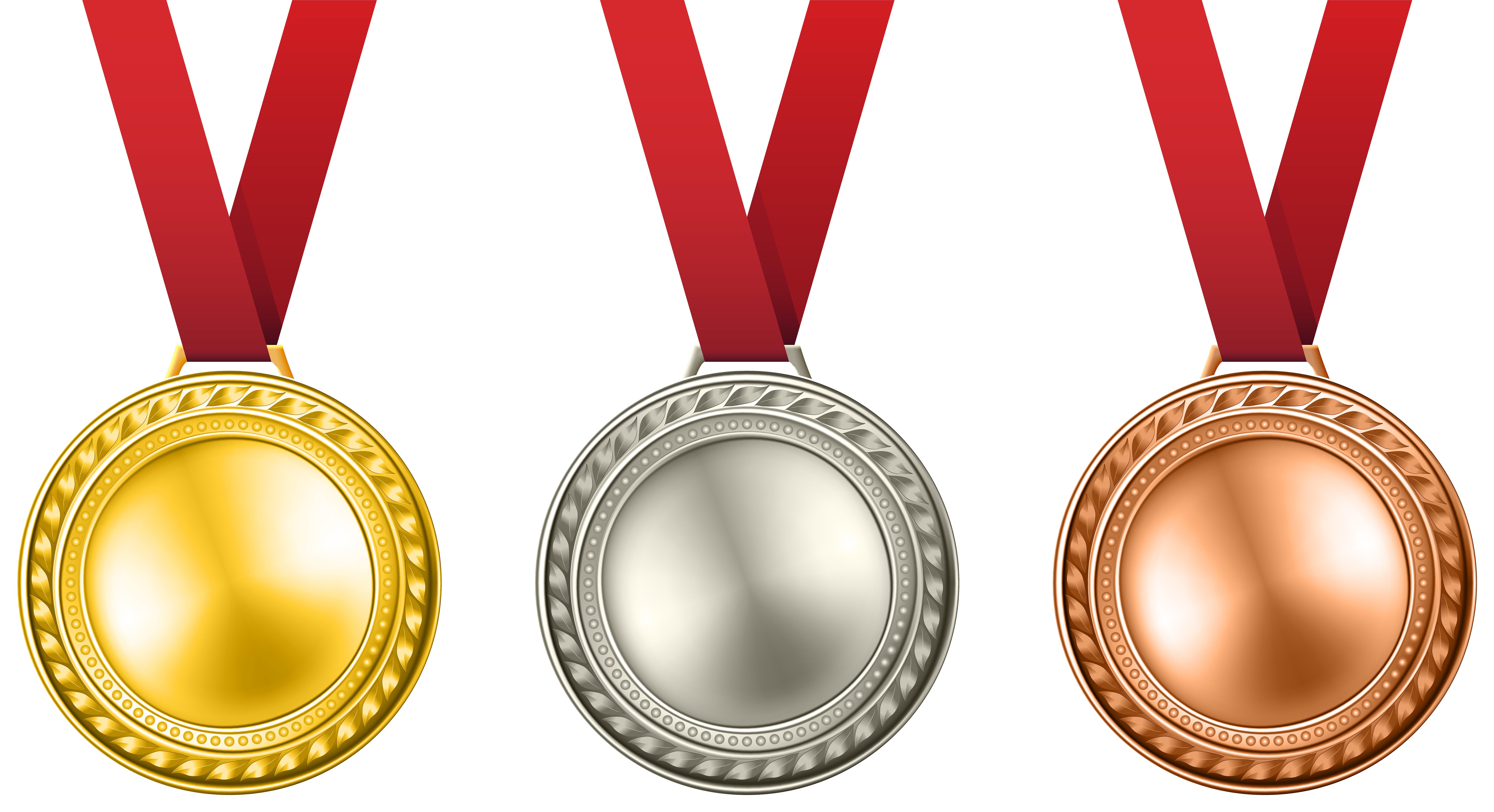 image transparent stock Medals set png clip. Medal transparent