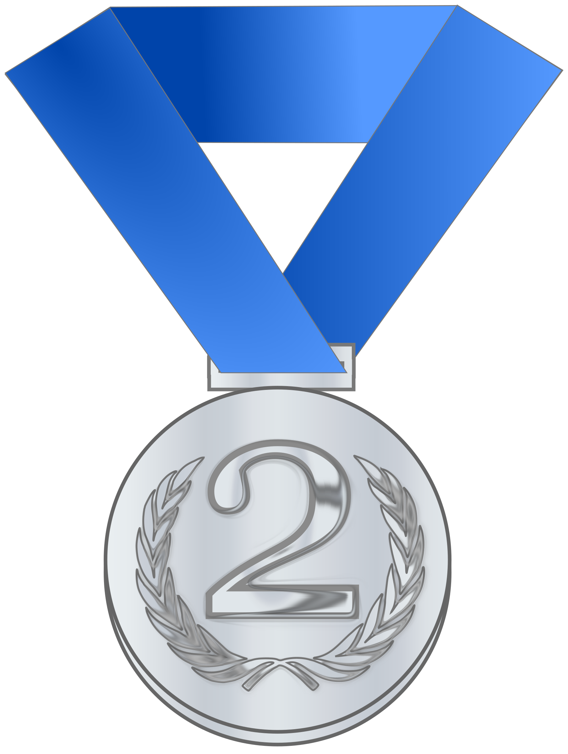 clip free Medal clipart silver. Award big image png.