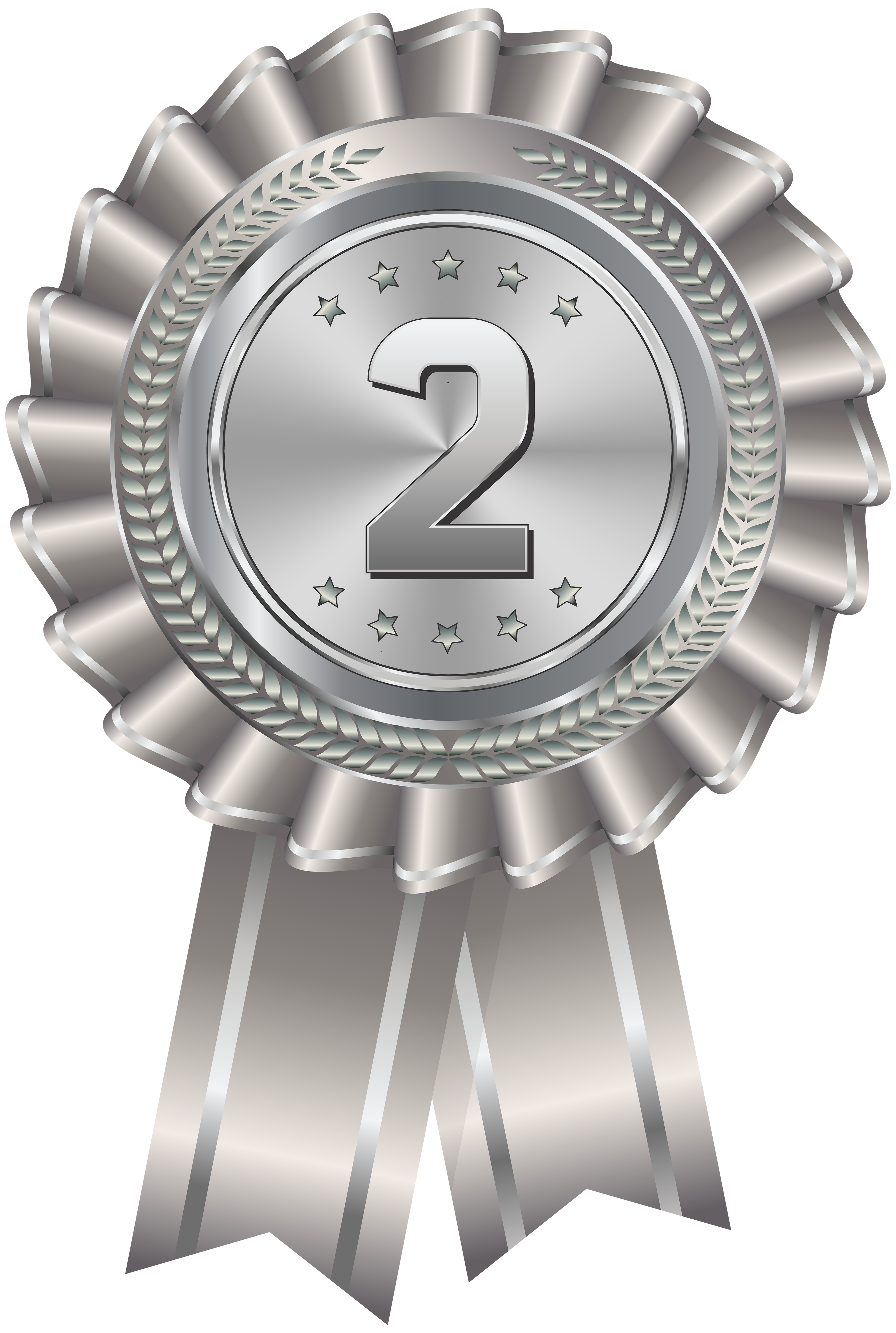 image library Transparent png clip art. Medal clipart silver.