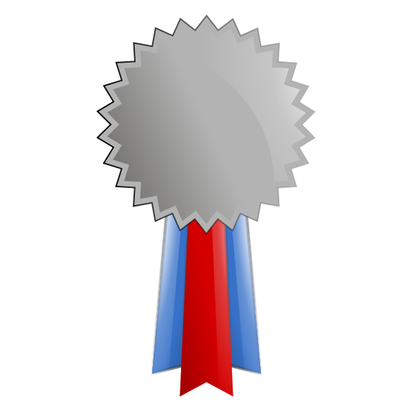 vector download Panda free images info. Medal clipart silver.