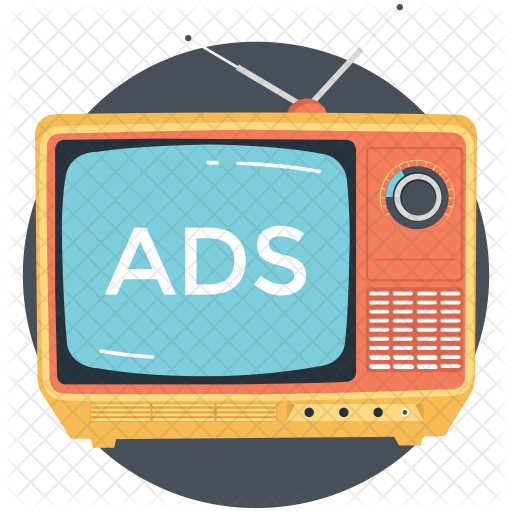 banner free download Television ads icon network. Media clipart tv advertisement.