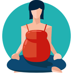 clipart download Medical clipart exercise science. Woman yoga relaxation pregnancy.