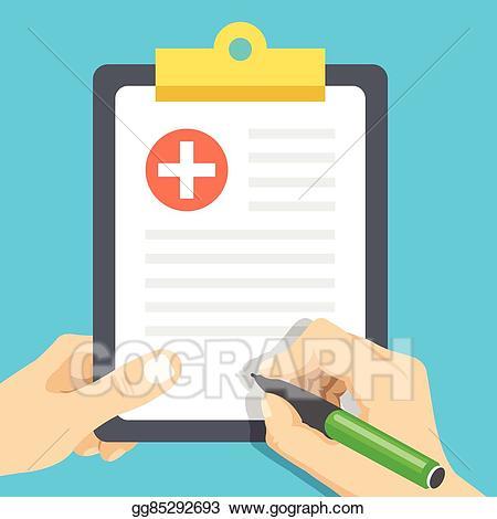 png transparent download Medical clipboard clipart. Clip art vector hands