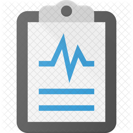 black and white download Report icon healthcare icons. Medical clipboard clipart