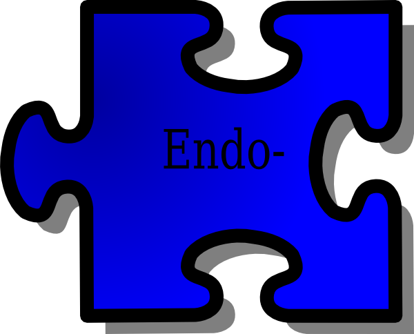 picture royalty free Endo Prefix Puzzle Clip Art at Clker