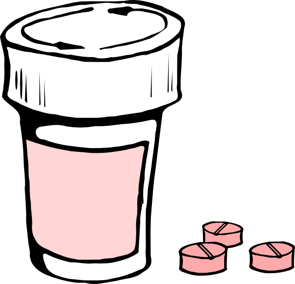 clipart library library Pink clip art at. Medication clipart