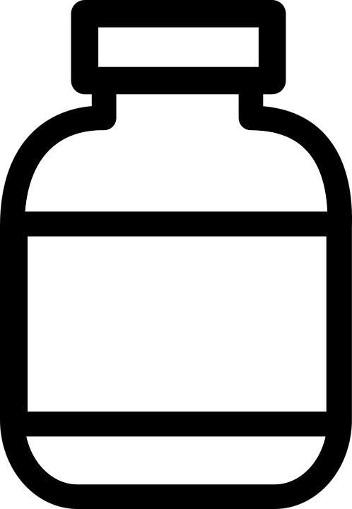 library Medication clipart medical accessory. Medicine vitamin bottle free.
