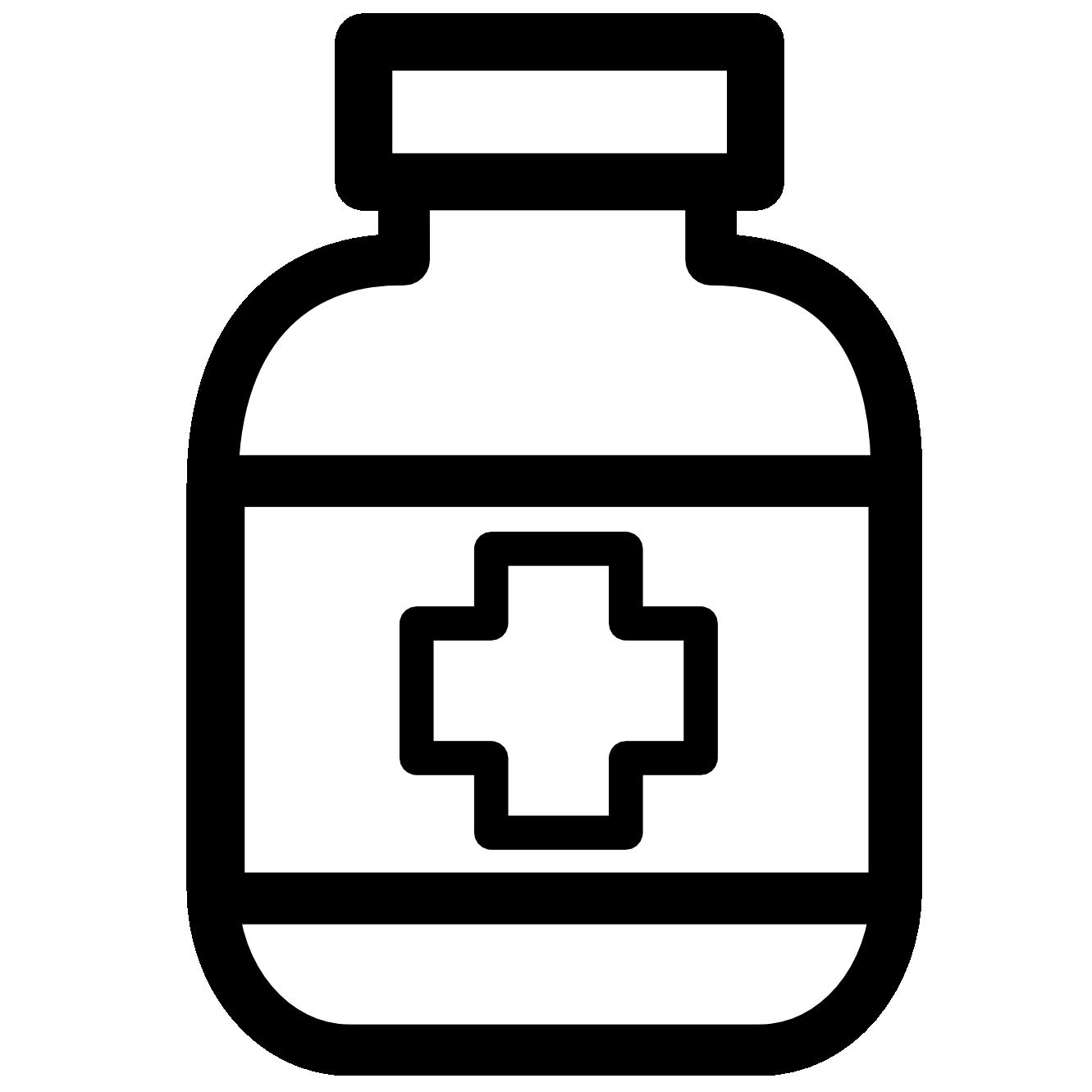 graphic medicine clipart black and white #59334223
