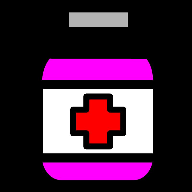 graphic free stock Sick person picture under. Medicine clipart cartoon.