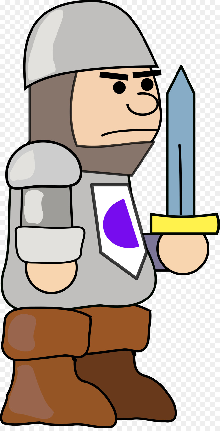 clipart royalty free library Middle finger warrior soldier. Medieval army clipart