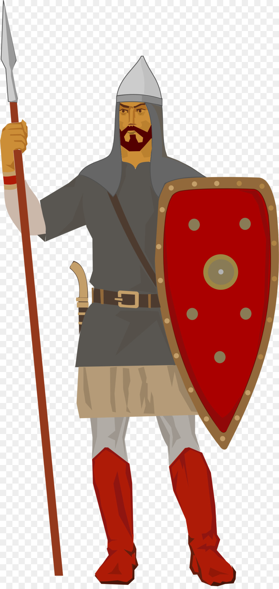 clipart Medieval army clipart. Soldier cartoon knight warrior