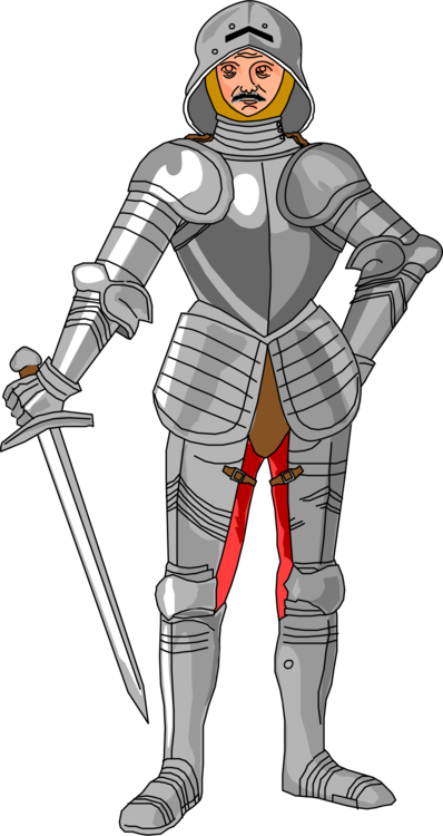 picture free stock Medieval knight clipart. Middle ages plate armour