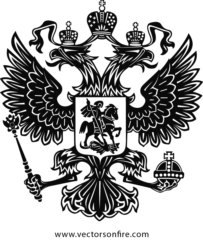 clipart royalty free Free The Coat of Arms of Russia PSD files