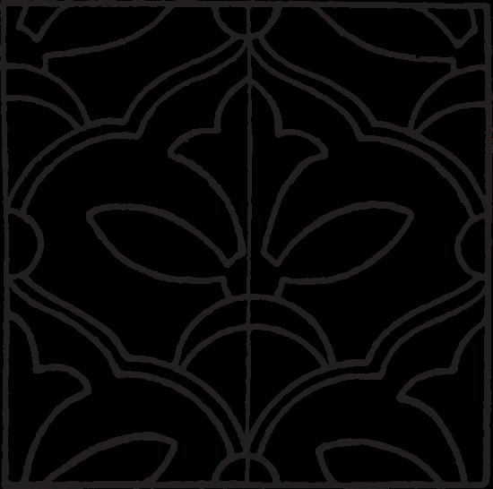 clipart library stock Persian Enamel Pattern