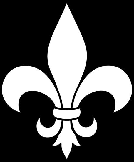 picture library stock Simple Fleur De Lis Logo Design