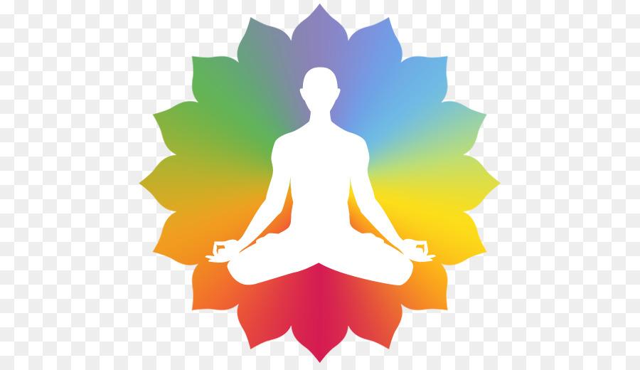 image library download Meditation clipart. Flower line art leaf.
