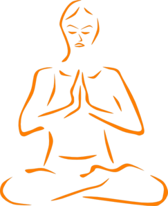 banner freeuse stock Free meditating cliparts download. Meditation clipart