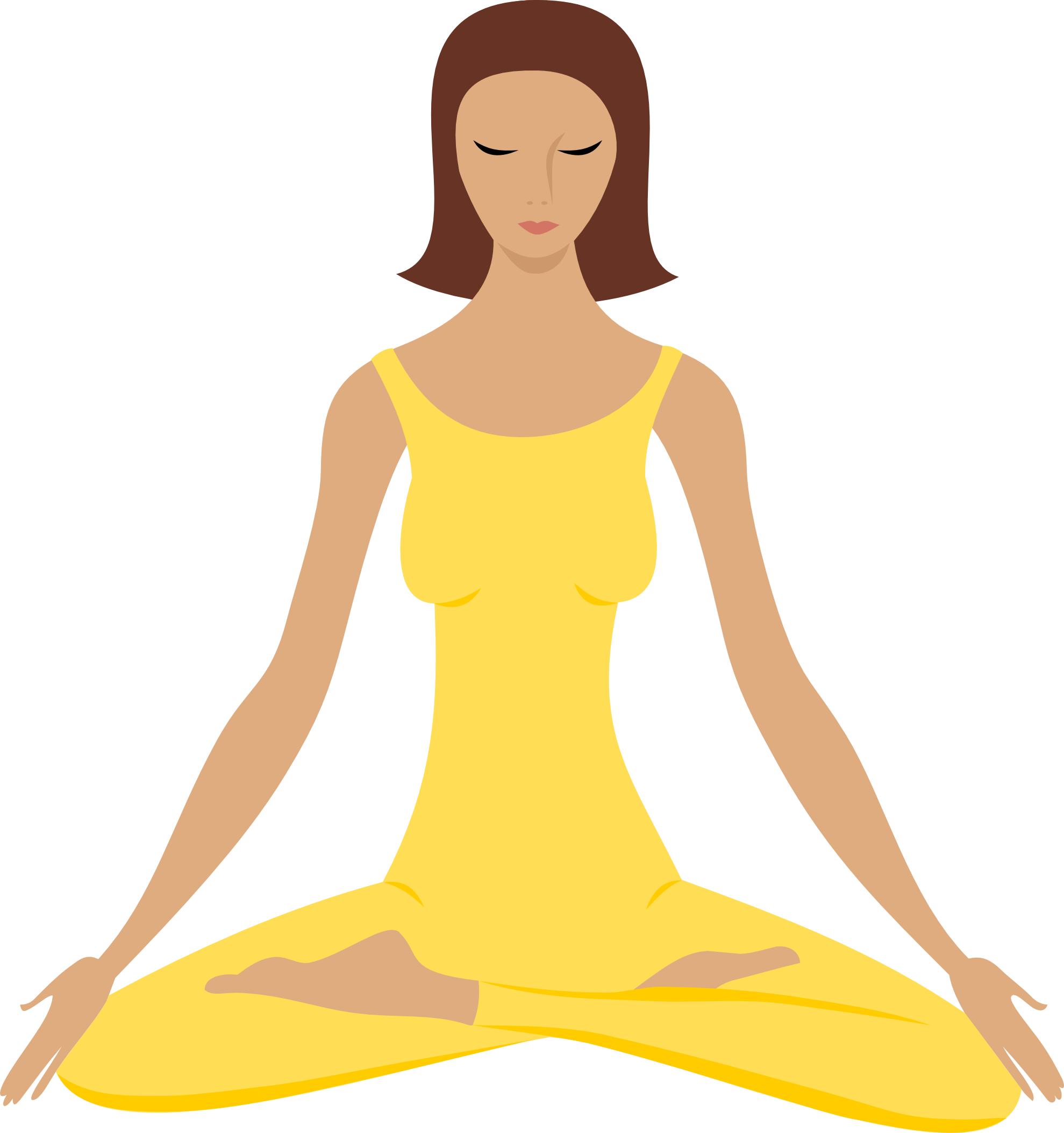 png royalty free library Meditation clipart. Free .