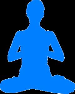 download Clip art at clker. Meditation clipart.