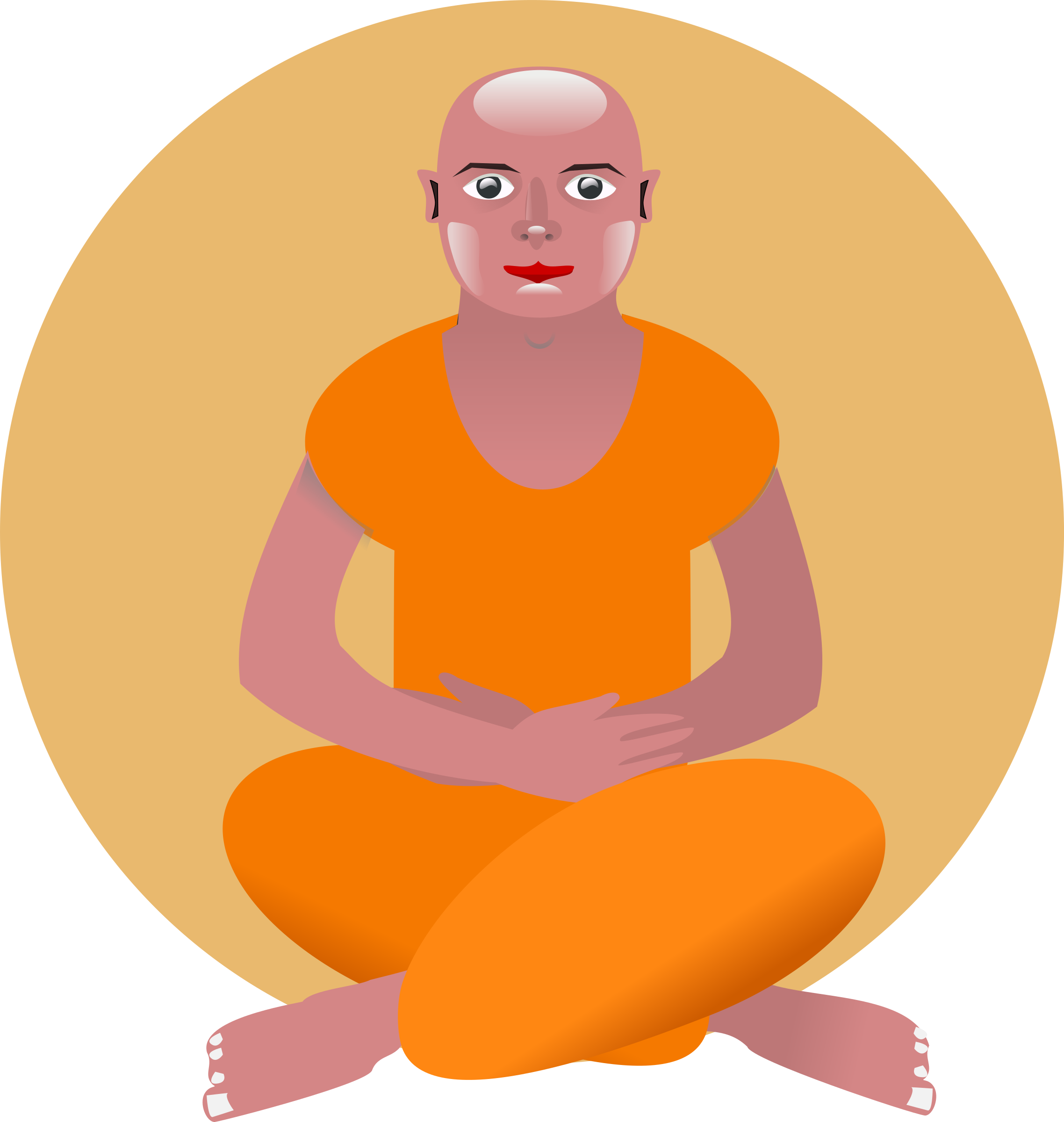graphic free download Meditation clipart.