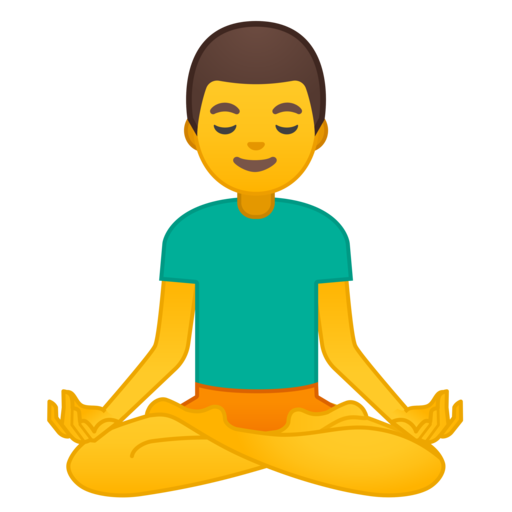 banner free stock Meditation clipart yoga male