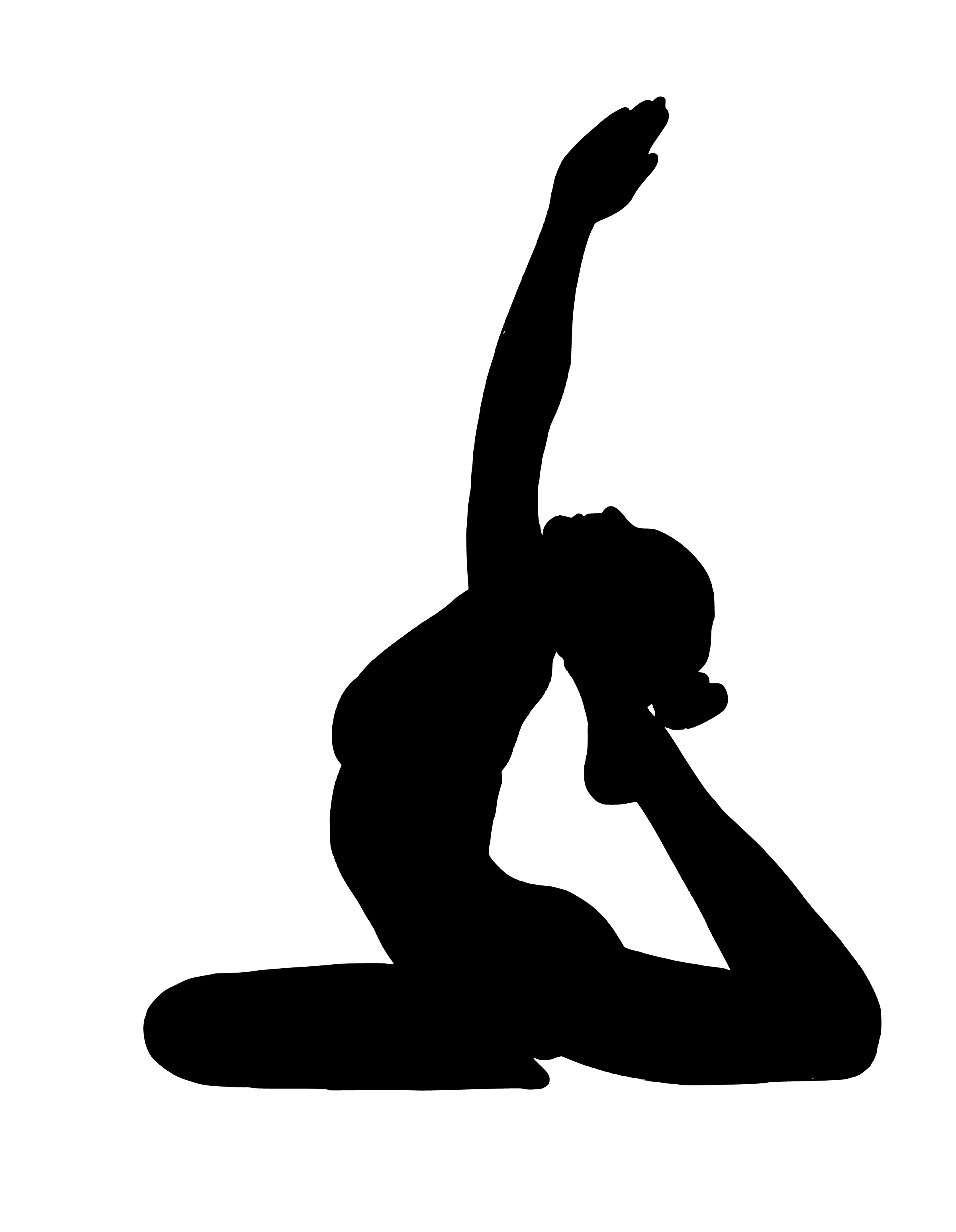 black and white Meditation clipart fit woman. Free images yoga exercise.