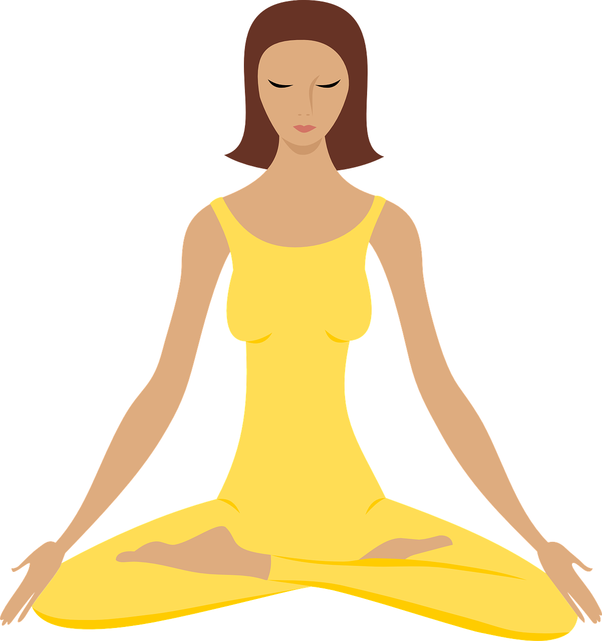 free download Meditation clipart fit woman. Pin by ali learntrainlive.