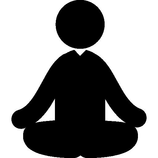 clip art library Yoga Icon