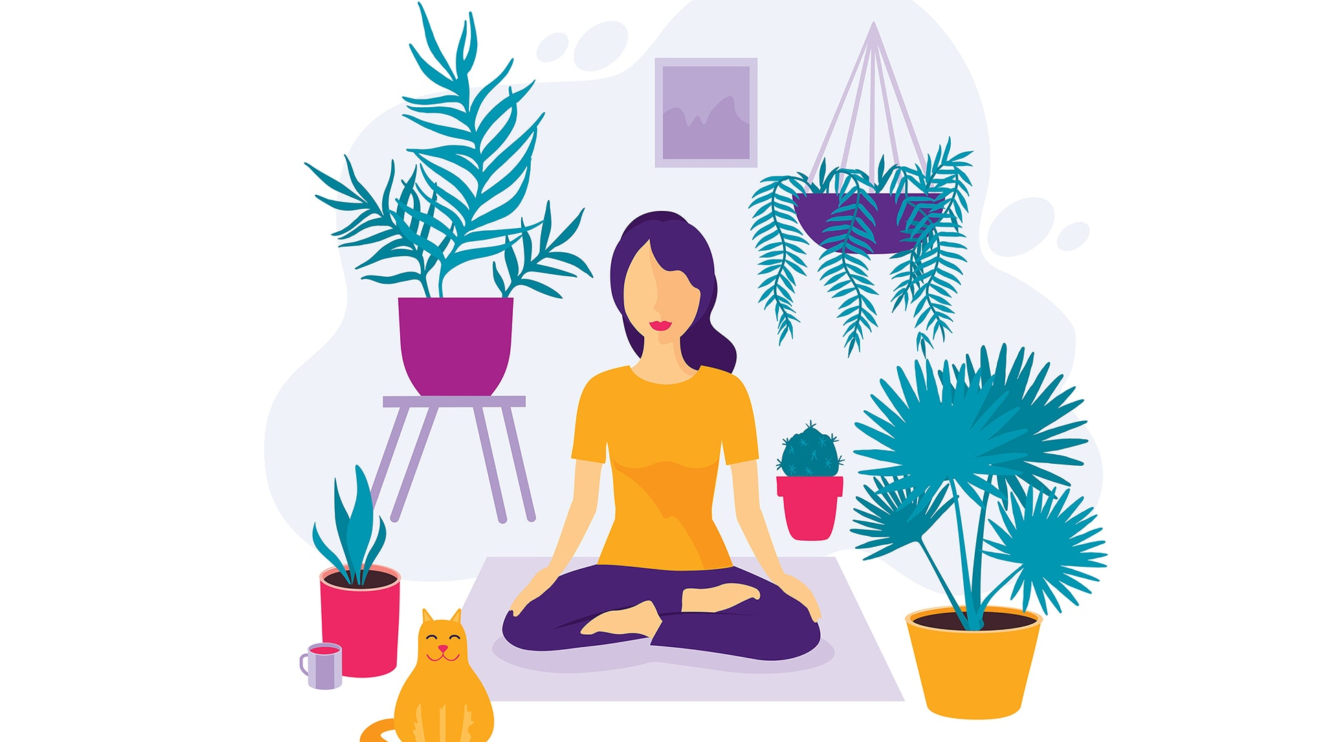 graphic transparent stock How to meditate mindful. Meditation clipart mental fitness