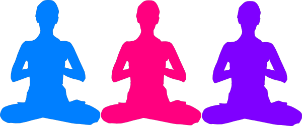 clip black and white download Free clip art poses. Meditation clipart mindfulness meditation.
