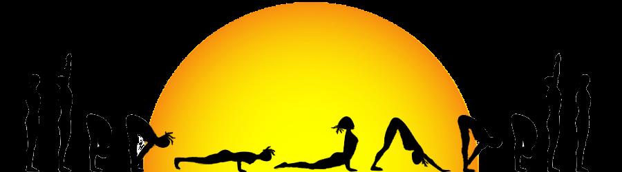 png black and white stock Meditation clipart surya namaskar